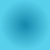 Dots on Blue Background, Pop Art Background Royalty Free Stock Photos