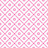 Dots and checks Seamless Pattern Royalty Free Stock Images