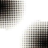Dots circle. Stock Image