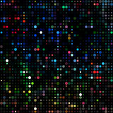 Dots colored neon Royalty Free Stock Photo