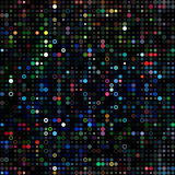 Dots colored psychedelic. Background design image Stock Photos