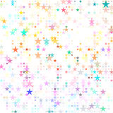 Dots colored star badesign. Dots colored star abstract  background design Stock Photo