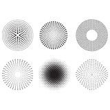 Dots design. A design ornamental look with a lot of dots design, dots, dot, black, white Royalty Free Stock Image