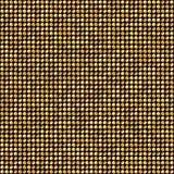 Dots Disco Mosaic Background de oro brillante Fotos de archivo