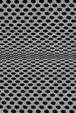 Dots fabric. Black and white dots fabric close up background royalty free stock images