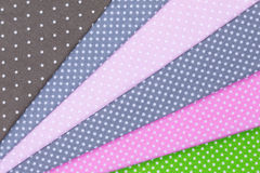 Dots fabric Royalty Free Stock Photography