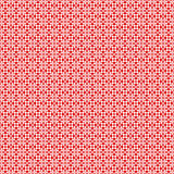 Dots and floral pattern Royalty Free Stock Photography