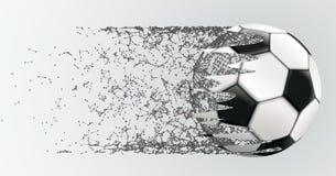 Dots Football conectado fondo abstracto Fotos de archivo libres de regalías