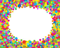 DOTS FRAME Royalty Free Stock Photos
