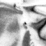 Dots Grunge Texture Royalty-vrije Stock Fotografie
