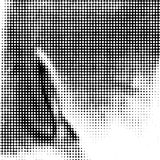 Dots Grunge Texture Vector Illustratie