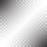 Dots Halftone Pattern diagonal Imagen de archivo libre de regalías