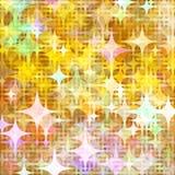 Dots illumination Orange kirakira. Background design image Royalty Free Stock Photos
