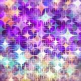 Dots illumination Purple kirakira. Background design image Royalty Free Stock Images