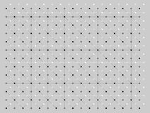 Dots and lines texture pattern in black and white colors on gray background. Vector illustration, EPS10. The image can be used as background, backdrop Stock Photo