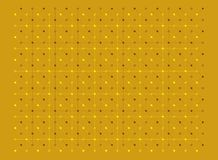 Dots and lines texture pattern in light yellow and brown colors on yellow background. Vector illustration, EPS10. The image can be used as background, backdrop stock illustration