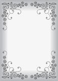 Dots ornamental frame Royalty Free Stock Images