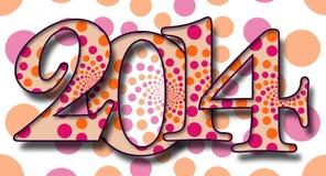 Dots Pattern 2014 Fotos de archivo libres de regalías