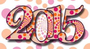 Dots Pattern 2015 Immagini Stock Libere da Diritti