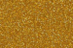 Or Dots Pattern Seamless Background Vecteur EPS8 Photos libres de droits