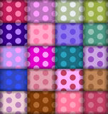 Dots patterns Royalty Free Stock Photography
