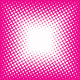 Dots on  pink background Stock Photos