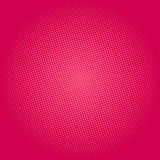 Dots on Pink Background, Pop Art Background Stock Photos