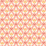 Dots pink Stock Photography