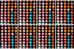 Dots Pixels Colors. Digital imaging, a pixel, pel, dots, or picture element is a physical point stock image
