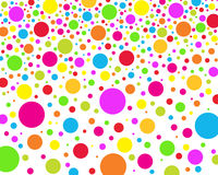 DOTS RAIN Royalty Free Stock Photo