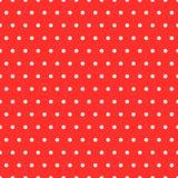 Dots Red Pattern ilustração royalty free