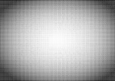 Dots Seamless Pattern Background in bianco e nero fotografia stock