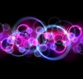 dots sparkling stjärnor Arkivfoton