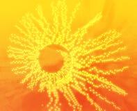 dots spiral Στοκ φωτογραφία με δικαίωμα ελεύθερης χρήσης