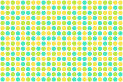 Dots, spring colors. Nice background with dots in the colors of the spring Royalty Free Stock Photo