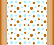 Dots and stripes royalty free stock photos