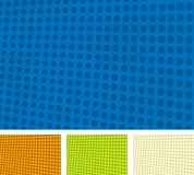 Dots texture (vector). Illustration of dots texture in different colors. Easy color changes in vector file Royalty Free Stock Image
