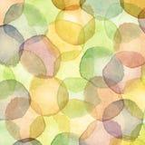 dots vattenfärg Royaltyfria Bilder