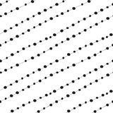 Dots vector background. Stock Image