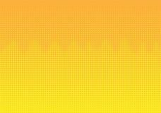 Dots Wave Pattern Background de semitono amarillo stock de ilustración