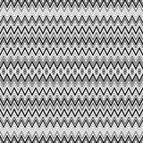 Dots and zig zag lines background Stock Photography