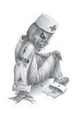 Dott. Death Fotografia Stock Libera da Diritti
