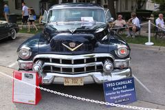 Dott. 1953 di serie 62 di Cadillac 4 Immagini Stock Libere da Diritti