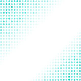 Dotted Azure Background. Halftone Pattern Royalty Free Stock Photo