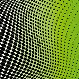 Dotted background. Black-green abstract dotted background Royalty Free Stock Images