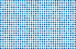 Dotted background with circles, dots, point Different shades of blue. Halftone pattern. Design element for web banners, posters, cards, wallpapers, sites Royalty Free Stock Photo