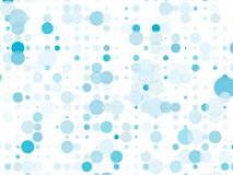 Dotted background with circles, dots, point different size, scale. Bokeh pattern. Design element for web banners, posters, cards, wallpapers, sites, panels vector illustration
