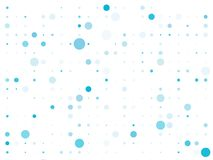 Dotted background with circles, dots, point different size, scale. Bokeh pattern. Design element for web banners, posters, cards, wallpapers, sites, panels stock illustration