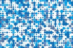 Dotted background with circles, dots, point different size, scale. Halftone pattern. Dotted background with circles, dots, point different size, scale Halftone Stock Photography