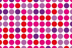 Dotted background with circles, dots, point large scale. Design element for web banners, posters, cards, wallpapers, sites. Royalty Free Stock Images